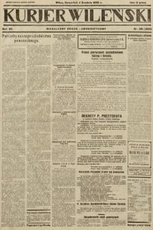 Kurjer Wileński : niezależny organ demokratyczny. 1930, nr281