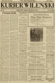 Kurjer Wileński : niezależny organ demokratyczny. 1930, nr287