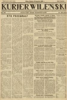 Kurjer Wileński : niezależny organ demokratyczny. 1930, nr288