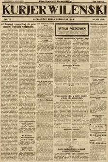Kurjer Wileński : niezależny organ demokratyczny. 1929, nr173