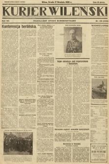 Kurjer Wileński : niezależny organ demokratyczny. 1930, nr291