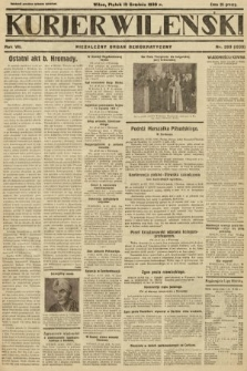 Kurjer Wileński : niezależny organ demokratyczny. 1930, nr293