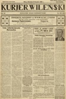 Kurjer Wileński : niezależny organ demokratyczny. 1930, nr295