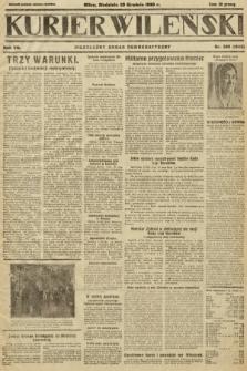 Kurjer Wileński : niezależny organ demokratyczny. 1930, nr298