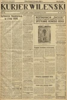 Kurjer Wileński : niezależny organ demokratyczny. 1930, nr300