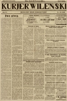 Kurjer Wileński : niezależny organ demokratyczny. 1929, nr213