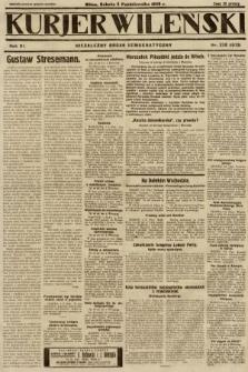 Kurjer Wileński : niezależny organ demokratyczny. 1929, nr228