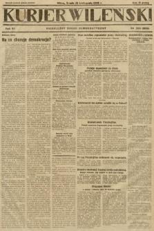 Kurjer Wileński : niezależny organ demokratyczny. 1929, nr260
