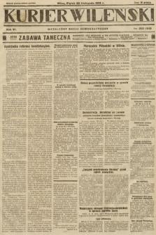 Kurjer Wileński : niezależny organ demokratyczny. 1929, nr268
