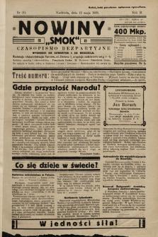 """Nowiny """"Smok"""" : czasopismo bezpartyjne. 1923, nr20"""
