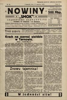 """Nowiny """"Smok"""" : czasopismo bezpartyjne. 1923, nr31"""