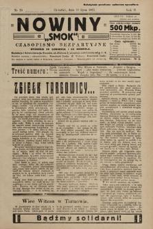 """Nowiny """"Smok"""" : czasopismo bezpartyjne. 1923, nr39"""