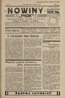 """Nowiny """"Smok"""" : czasopismo bezpartyjne. 1923, nr42"""