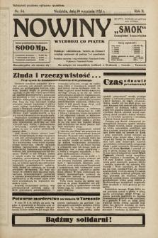 """Nowiny """"Smok"""" : czasopismo bezpartyjne. 1923, nr54"""