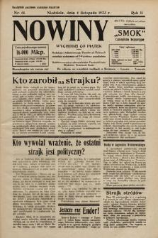 """Nowiny """"Smok"""" : czasopismo bezpartyjne. 1923, nr61"""