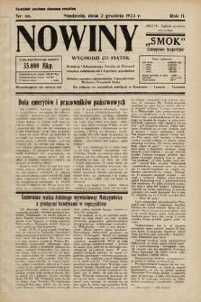 """Nowiny """"Smok"""" : czasopismo bezpartyjne. 1923, nr66"""