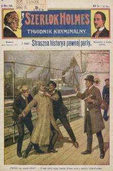 Szerlok Holmes : tygodnik kryminalny. 1910, nr32
