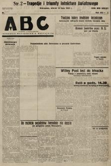 ABC : pismo codzienne : informuje wszystkich o wszystkiem. 1933, nr205