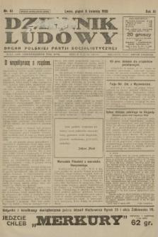 Dziennik Ludowy : organ Polskiej Partji Socjalistycznej. 1928, nr81