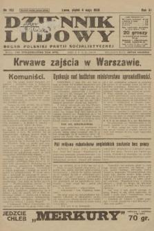 Dziennik Ludowy : organ Polskiej Partji Socjalistycznej. 1928, nr102