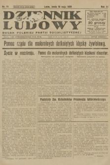 Dziennik Ludowy : organ Polskiej Partji Socjalistycznej. 1928, nr111