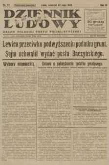 Dziennik Ludowy : organ Polskiej Partji Socjalistycznej. 1928, nr117