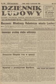 Dziennik Ludowy : organ Polskiej Partji Socjalistycznej. 1928, nr 229