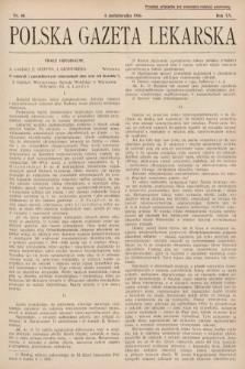 Polska Gazeta Lekarska. 1936, nr40