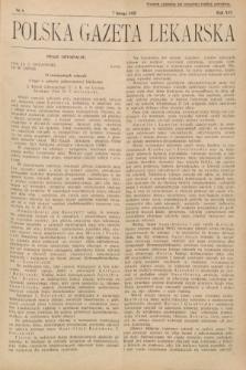 Polska Gazeta Lekarska. 1937, nr6