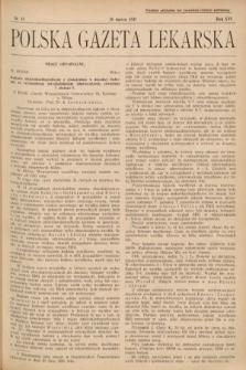 Polska Gazeta Lekarska. 1937, nr13