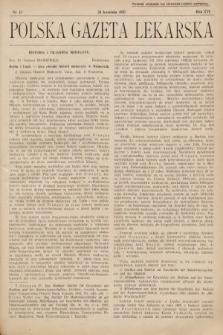 Polska Gazeta Lekarska. 1937, nr17