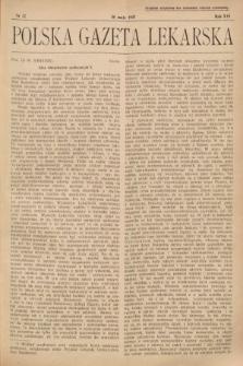Polska Gazeta Lekarska. 1937, nr22