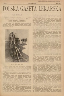 Polska Gazeta Lekarska. 1937, nr36