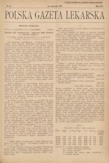Polska Gazeta Lekarska. 1937, nr38