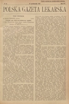 Polska Gazeta Lekarska. 1937, nr41
