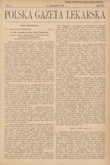 Polska Gazeta Lekarska. 1937, nr42
