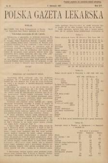 Polska Gazeta Lekarska. 1937, nr45
