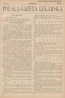 Polska Gazeta Lekarska. 1937, nr46