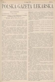 Polska Gazeta Lekarska : dawniej Gazeta Lekarska, Przegląd Lekarski oraz Czasopismo Lekarskie i Lwowski Tygodnik Lekarski. 1931, nr6
