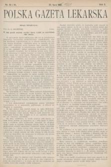 Polska Gazeta Lekarska : dawniej Gazeta Lekarska, Przegląd Lekarski oraz Czasopismo Lekarskie i Lwowski Tygodnik Lekarski. 1931, nr29 i 30