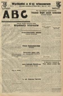 ABC : pismo codzienne : informuje wszystkich o wszystkiem. 1934, nr77
