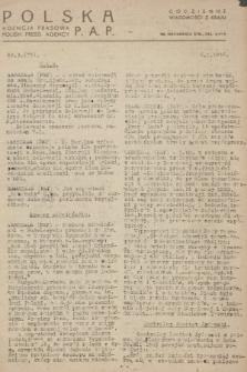 Codzienne Wiadomości z Kraju. 1946, nr3