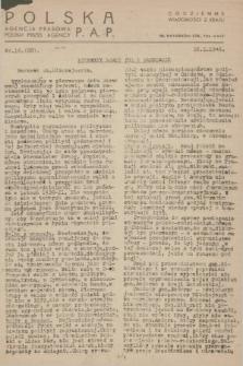 Codzienne Wiadomości z Kraju. 1946, nr16