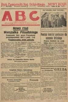 ABC : pismo codzienne : informuje wszystkich o wszystkiem. 1926, nr9