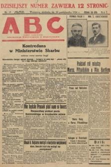 ABC : pismo codzienne : informuje wszystkich o wszystkiem. 1926, nr17