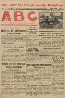 ABC : pismo codzienne : informuje wszystkich o wszystkiem. 1926, nr18
