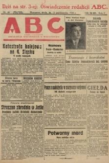 ABC : pismo codzienne : informuje wszystkich o wszystkiem. 1926, nr20