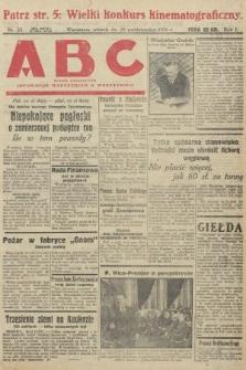ABC : pismo codzienne : informuje wszystkich o wszystkiem. 1926, nr33