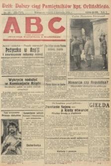 ABC : pismo codzienne : informuje wszystkich o wszystkiem. 1926, nr39