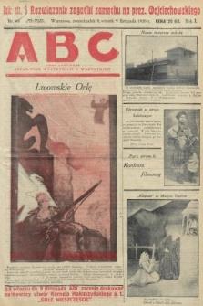 ABC : pismo codzienne : informuje wszystkich o wszystkiem. 1926, nr44